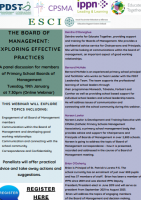 The Board of Management:  Exploring Effective Practices