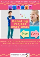 Debating Project 2021 Information Meeting