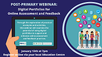POST PRIMARY Webinar – Using Digital Portfolios for Online Formative Assessment and Feedback